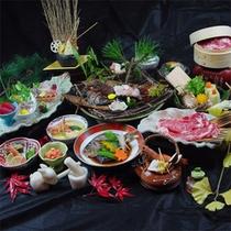 伊勢海老付★会席料理の一例です