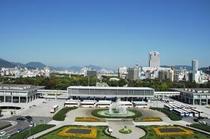 広島平和記念公園 ホテルから70分