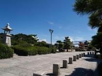 下蒲刈町の石畳