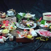 伊勢海老&松茸の饗宴★最上級会席の一例です
