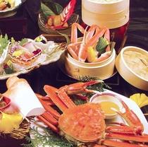 2015年11月・12月限定★かにグルメ★当館最上級会席のお料理の一部の一例です