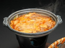 とちぎ和牛鍋(朝食)