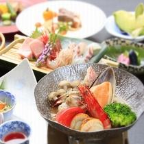 ■【4月-9月】ご夕食一例 ※画像はブイヤベース