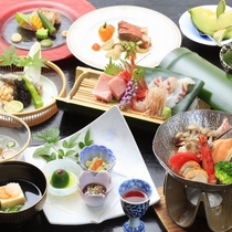 ■【4月-9月】ご夕食一例 ※画像はブイヤベースがベース