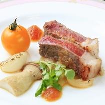 【中皿】牛ステーキ ~春・夏~