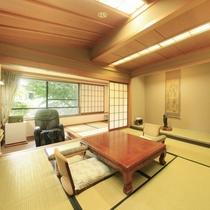 ■【温泉内風呂&マッサージ機付】特別室 ※一例/木部には秋田杉を使用した特別室です。