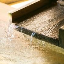 【姥子の湯】箱根八湯と称される、いにしえよりこんこんと湧き出るお湯はじんわりとした温かさが格別です。