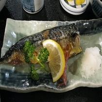 夕食付プラン【食堂ミサ】焼魚定食【スーパーホテル新井・新潟】