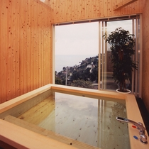 *■貸切風呂 檜風呂