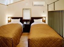 メゾネットコテージ ベッド