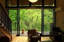 森林浴をしながら宿泊☆彡