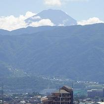★シングルルームから見える富士山