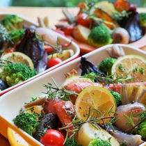 皮付き野菜のグリル