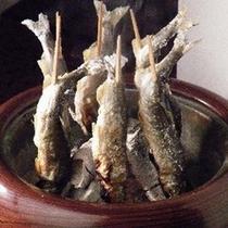 【夕食】夏が旬★鮎の塩焼き