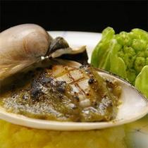 【夕食】ハマグリソテー