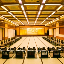◆宴会場◆様々な宴会に対応できるよう大小合わせて6種類の宴会場をご用意しております♪