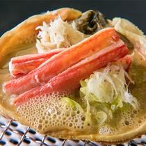 ◆板長おススメ♪◆『蟹味噌の甲羅焼き♪』