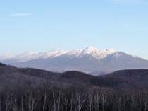 【十勝連峰】多彩な表情を見せてくれる山々。