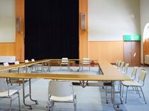 【多目的ホール】会議や団体様のお食事やご宴会でもご利用いただけます