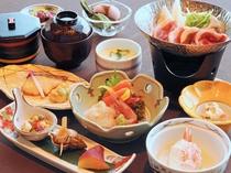 【ご夕食一例】富良野の旬の味覚をお楽しみください