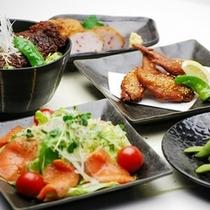 夕食レストラン『花々亭』