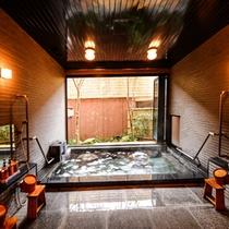 大浴場 横