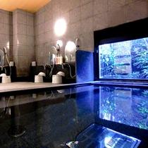 ラジウム人工温泉「旅人の湯」無味無臭のお湯はどなたにも好き嫌いなくお楽しみいただけます。