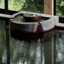 ◆奥の沢源泉の湯口