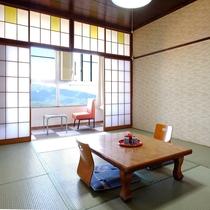 【眺望おまかせ・和室10畳】4階のお部屋眺望おまかせ♪だからリーズナブル~禁煙~