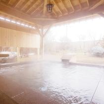 大浴場 檜の露天風呂