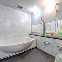 *家族風呂/24時間いつでもご利用いただけます。広いお風呂でゆったり旅の疲れを癒しましょう。