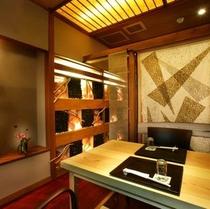【手毬茶屋】  *プライベート空間を保てるお食事処で、当館自慢のお料理をお楽しみください