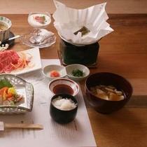 *群馬県の食材を使用したヘルシーな和食会席料理です。