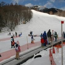 スキー場(キッズパーク動く歩道)