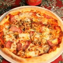 ナポリ風ピザ