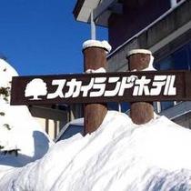 *ホテル看板【冬】