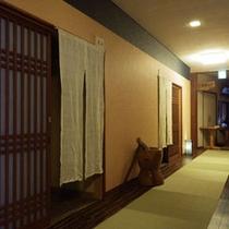 館内一例:廊下