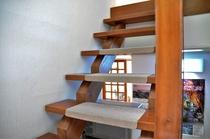 館内ストリップ階段