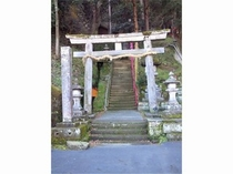 湯谷神社 入口