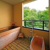 檜風呂(2階山側客室露天)