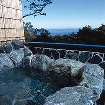 岩風呂(海側客室露天)