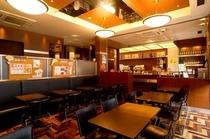 1階カフェ&バー「PRONTO」