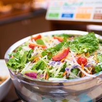 有機JAS認定野菜を使用したサラダ