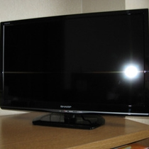 客室の液晶テレビ