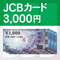 JCBカード3000円分付きプラン(※イメージ)