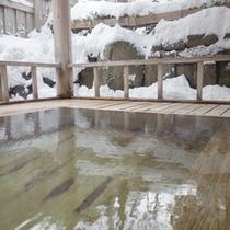 *【露天風呂】天然温泉につかっての〜んびり…