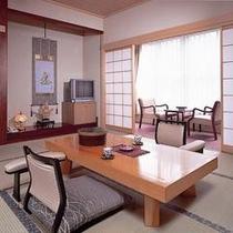 *【客室例】ゆったり落ち着ける雰囲気のお部屋です。
