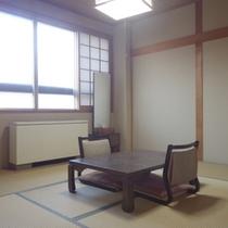 *【客室例】足を伸ばしてのんびりお寛ぎ頂けるお部屋です。