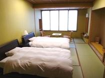 【特別室】和洋室ツインベッドルーム【禁煙】