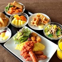 ◆朝食《洋食一例》